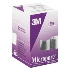 3m Micropore 72mmx10m Post Partum, Facial Tissue, Nursing, Personal Care, Self Care, Personal Hygiene, Post Pregnancy, Breast Feeding, Breastfeeding