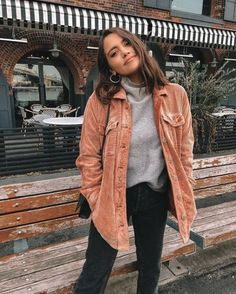 10 Cute Back To School Outfits That Are Perfect For The Fall – Society19 Winter Outfits For Teen Girls, Casual Fall Outfits, Fall Winter Outfits, Autumn Winter Fashion, Trendy Outfits, Fashion Spring, Dress Winter, Hipster Outfits Winter, Hipster Fall Fashion