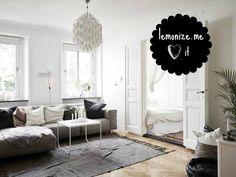 Małe skandynawskie mieszkanie w Szwecji // Tiny scandinavian appartment in Sweden
