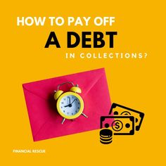 Don't get intimidated by letters and phone calls, instead focus on creating a plan and a solution for handling the issue as efficiently as possible. Financial Tips, Financial Literacy, Collection Agency, Debt Payoff, Finance, Stress, Letters, How To Plan, Phone