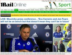 Jose-MOURINHO's weekly press conference ahead of #MCICHE game.