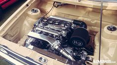 VW 1.8t engine bay