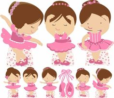 Bailarina Ballerina Birthday Parties, Ballerina Party, Princess Birthday, Girl Birthday, Baby Ballet, Ballet Dance, Lalaloopsy, Cartoon Songs, Gold Baby Showers