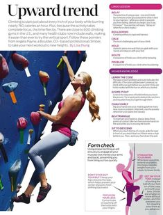 3 Reasons to Try Rock Climbing - Women Fitness Magazine - Reasons to Try Rock Climbing - Rock Climbing Workout, Rock Climbing Gear, Sport Climbing, Climbing Wall, Rock Climbing Quotes, Rock Climbing Training, Climbing Pants, Climbing Shoes, Rock Climbing Techniques