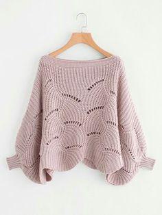 Красивый и необычный узор для пуловера. Схемы (УЗОРЫ СПИЦАМИ)   Журнал Вдохновение Рукодельницы