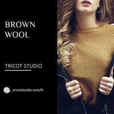 Les 10 meilleures images de Brown wool | Modèles à tricoter