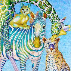 Lisa Benoudiz - More artists around the world in : http://www.maslindo.com #art #artists #maslindo