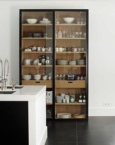 Modernist kitchen display