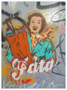 Street art. Raval. Barcelona. Maudea