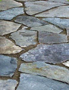 Shades of Green Gardening Tutorial: How to Build a Flagstone Walkway