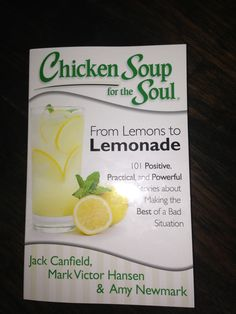 I wrote a chapter in this newest Chicken Soup for the Soul Book!