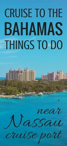 Things to do in Nassau Bahamas near cruise port: Free + Cheap :: Cruise tips - Caribbean cruise tips. things to do on a cruise to bahamas nassau cruise port one day. Caribbean Honeymoon, Bahamas Honeymoon, Bahamas Vacation, Bahamas Cruise, Nassau Bahamas, Royal Caribbean Cruise, Cruise Port, Cruise Travel, Cruise Vacation