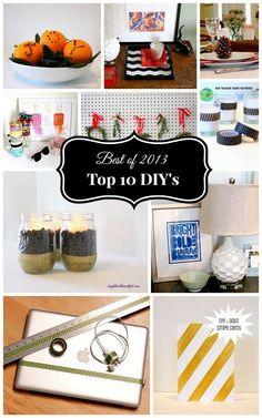 Top 10 DIY's