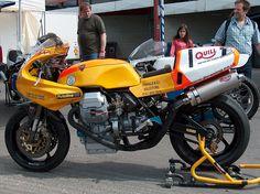Moto guzzi racer by jim blomley