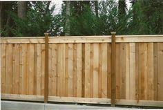 good neighbor cedar fence - Google Search