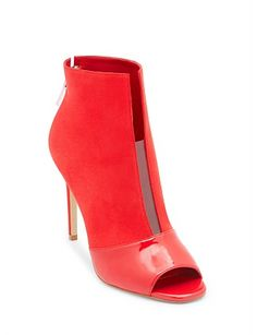 Funtime Boot Peeps, Peep Toe, Boots, Clothing, Women, Fashion, Crotch Boots, Outfits, Moda