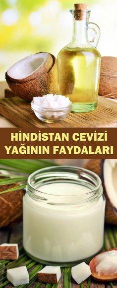 Benefits of Coconut Oil- Hindistan Cevizi Yağının Faydaları Benefits of Coc Benefits Of Coconut Oil, Coconut Oil For Skin, Glass Of Milk, Health, Ethnic Recipes, Food, Coconut Oil Benefits, Health Care, Essen