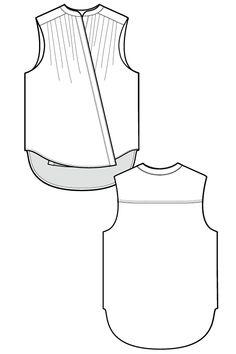Line drawing www.sewingavenue.com