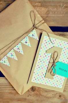 birthday gift wrapping from sweet living and things