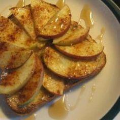 tastycookery   Apple Toast