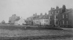 Seaton Carew opposite where the bus station would be built. In the distance can be seen the lifeboat house which stood till Bus Station, Old Pictures, Seaside, Distance, The Past, England, Building, Photos, House