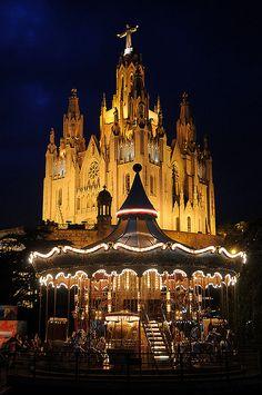 Tibidabo. Barcelona (Catalunya - Catalonia)