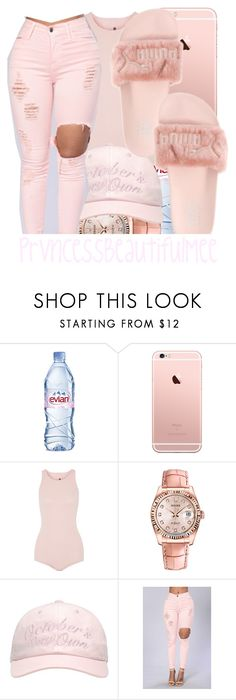 """"""""""" by prvncessbeautifulmee on Polyvore featuring Evian, Rick Owens, Rolex and October's Very Own"""