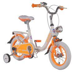 Vehicule pentru copii :: Biciclete si accesorii :: Biciclete :: Bicicleta copii pliabila Lambrettina orange 12 ATK Bikes Tricycle, Motorcycle, Bike, Orange, Bicycle, Motorcycles, Bicycles, Motorbikes, Choppers