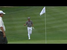 Bryce Molder holes out for birdie at Barracuda [ ArtOfGolf.com ] #PGA #art #golf