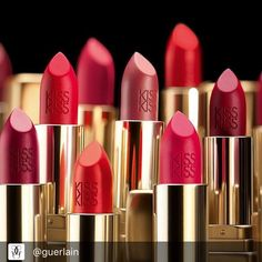 Our newest #Guerlain family portrait is looking fabulous Double tap if you think this is #Lipstick collection #goals #KissKissStories #matte #newcollection #motd #beautyreview #beautyblogger #beautyupdate #beautymmc