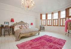 love the pink rug