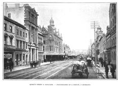 Bill ✔️ Queen Street, Auckland, New Zealand, c.1904. Bill Gibson-Patmore. (curation & caption: @BillGP). Bill✔️
