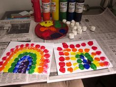 Marshmallow painting! If you use homemade edible paint, then it's also a sweet afternoon treat as well as art.