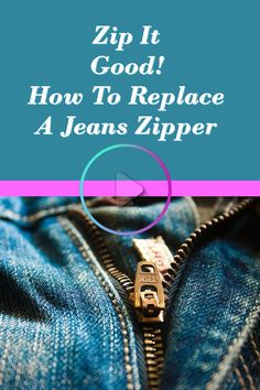 0d3f4adb44d It may feel like a police chase to get a jeans zipper replacement  accomplished
