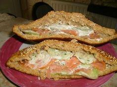 pita saumon concombre(dukan)
