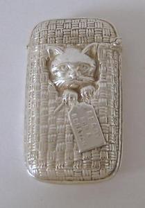 A Cat In Cat Basket