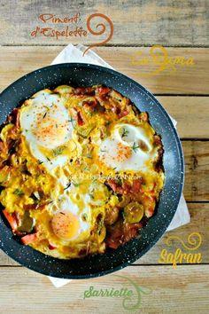 Recette legumes - Poêlée de légumes curcuma et oeufs au plat bio sur kaderickenkuizinn.com