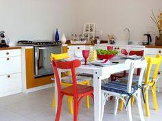Thyara Porto – Arquiteta e Urbanista Cozinha Colorida: Lindas Inspirações Para Você - Thyara Porto - Arquiteta e Urbanista