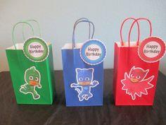 Máscaras de PJ goody bolsas 10 pj máscaras por BehindTheTheme