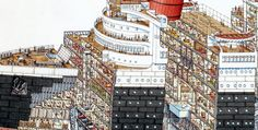 Classic Cross-Section Illustrations by Stephen Biesty