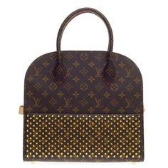 6fc6d0e9e9cf Louis Vuitton Limited Edition Christian Louboutin Shopping Bag Calf Hair  and Mon