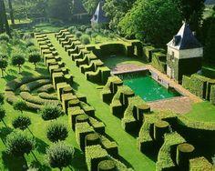 Eyrignac Gardens #gardendesign #landscapearchitecture