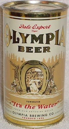 olympia beer can - Google Search