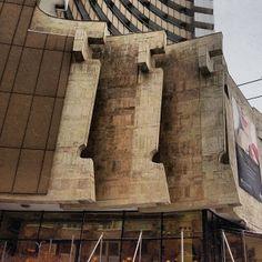 InterContinental Hotel, Bucharest #socialist #brutalism #architecture