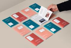 Brand identity and print for Barcelona Gallery Weekend by Hey.