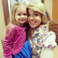 Rapunzel love! #Laurelsprincessparties
