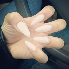 can i do my nails this long and pointy and still function in life? not sure but i love it!