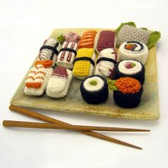 knitted-sushi
