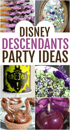 Bring good and evil together for the biggest shindig of the year when you throw a party with all these Disney Descendants party ideas. Perfect for celebrating the newest Descendants 3 movie. ideas for birthday 40th Birthday Quotes, Birthday Gag Gifts, 9th Birthday Parties, 8th Birthday, Birthday Ideas, Birthday Images, Birthday Greetings, Birthday Wishes, Happy Birthday