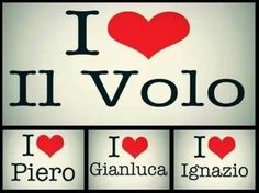 Cute, eh? Credit: unknown ⭐️IL VOLO⭐️